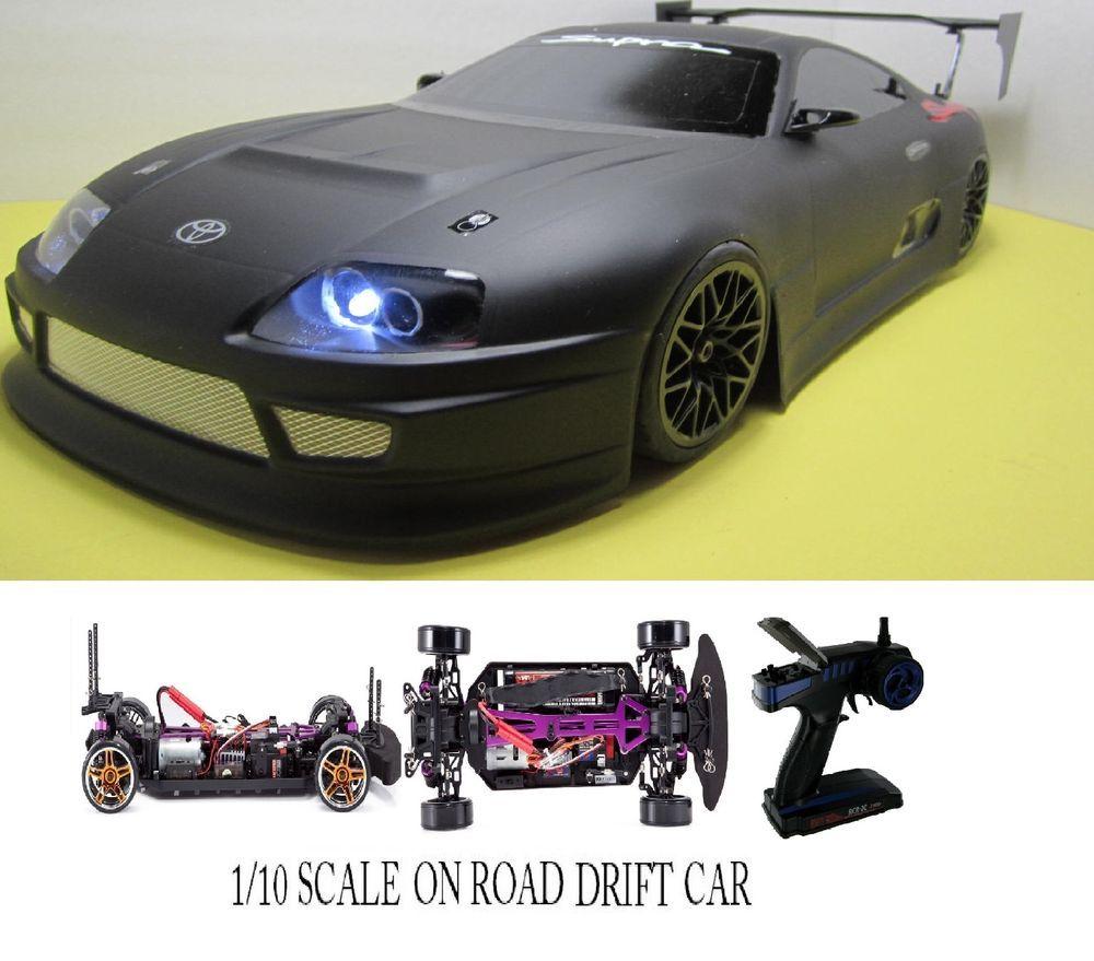 1 10 Scale Toyota Supra Rtr Custom Rc Drift Cars 2 4ghz