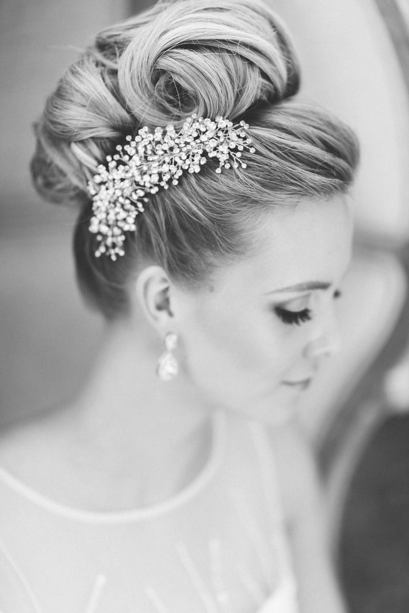 Jewel Hair Design | Hair accessories, Weddings and Updo