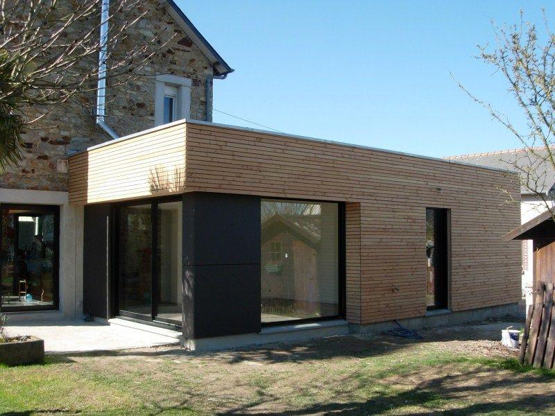 Extension maison bois  moderne et fonctionnelle Extensions