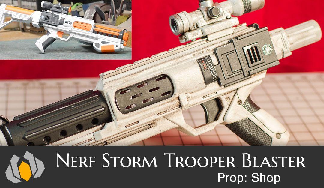 Steampunk Nerf Gun -Sniper Hunting Rifle - Cosplay - Longstrike