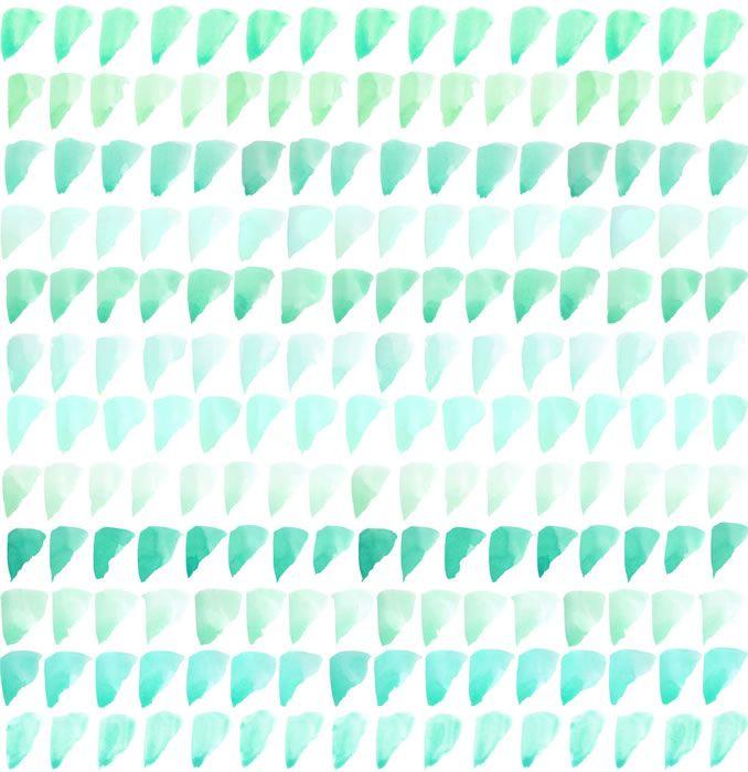 sarah-ellison-mint-triangles wallpaper