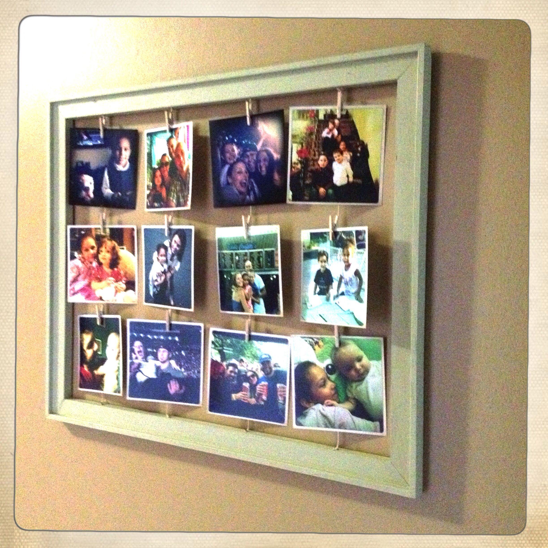 DIY picture frame | Life | Pinterest | Basteln