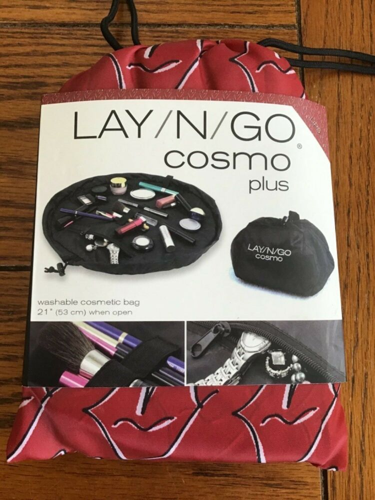 Details about NEW Lay N Go Red Lips Cosmo Plus Cosmetic