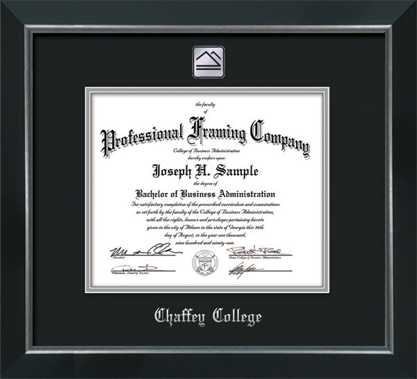 Chaffey College Diploma Frames Broadway W Silver