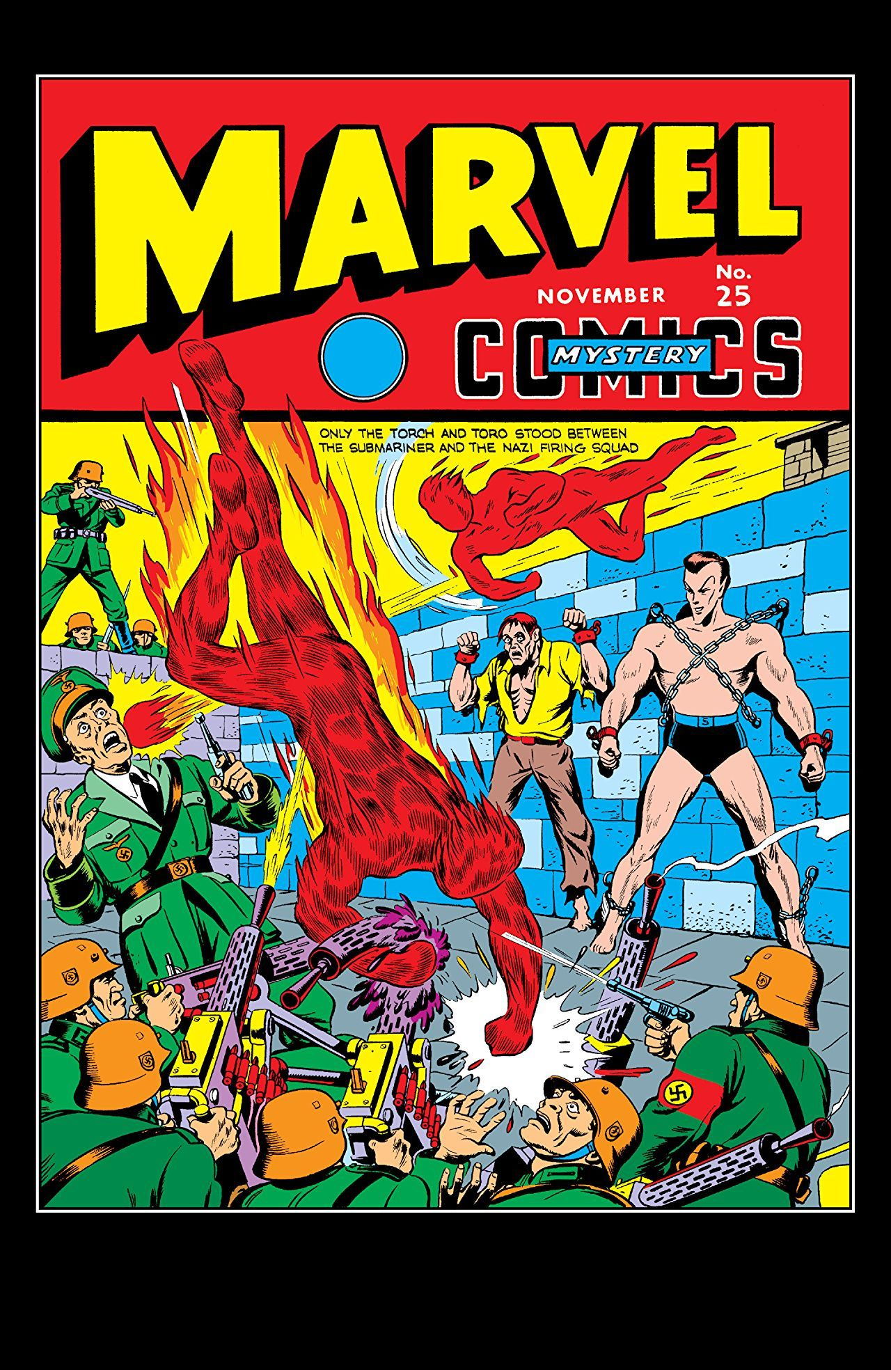 Marvel mystery comics 19391949 25 with images