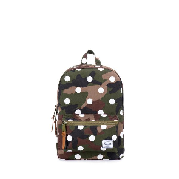 The Settlement Kids backpack is designed after Herschel Supply's popular Settlement silhouette which has been sized specifically for youth. This durable backpac