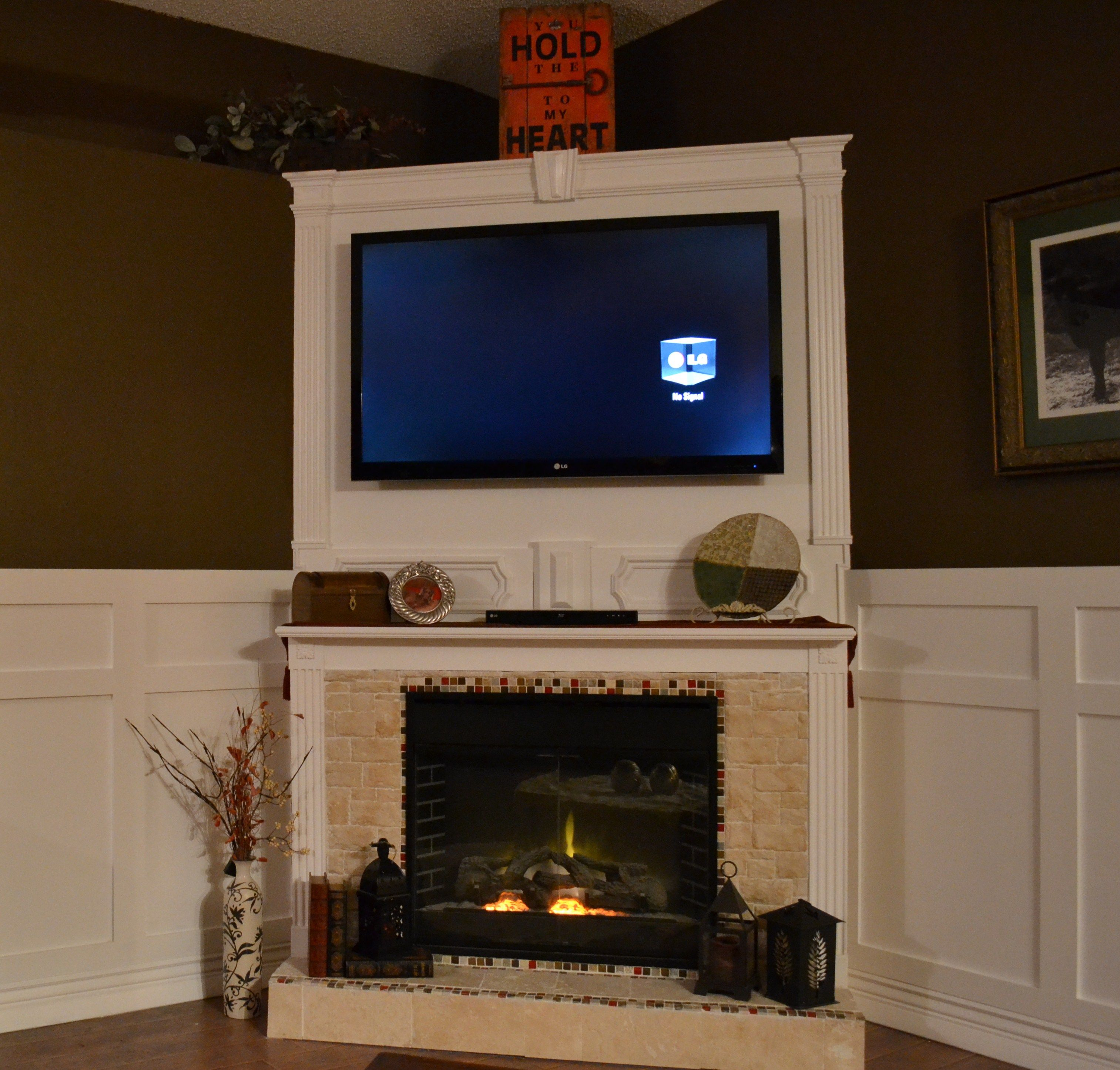 designs fireplace contemporary mantel electric top ideas home