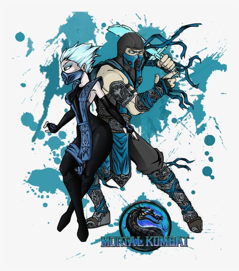 Download Mortal Kombat Sub Zero And Frost Transformed By Writing