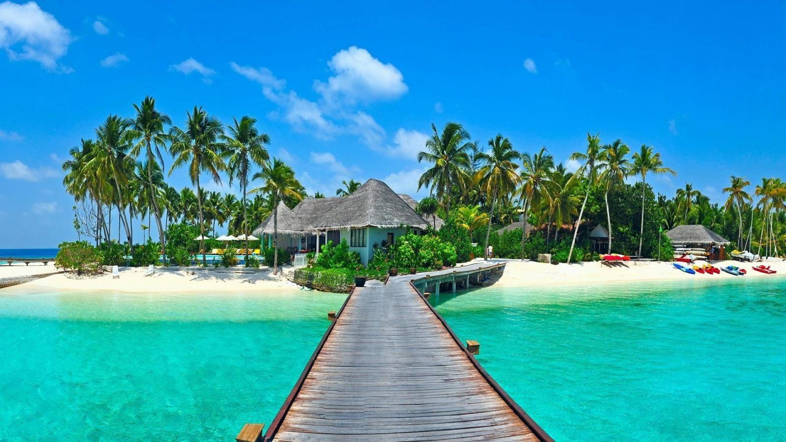 Beach Resort Mind Blowing Nature Hd Wallpapers 1600x900 Resolution Paisajes Lugares Para Visitar Poses