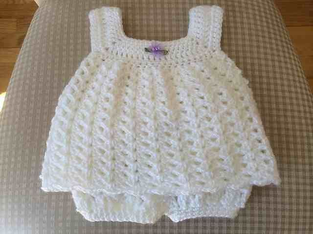 FREE Baby Dress Crochet Patterns | gloriatejidos | Pinterest | Bebe ...