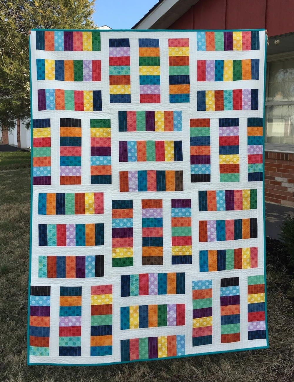 Rainbow Coin Quilt Pattern Quilt Patterns Quilt Patterns Free Colorful Quilts Patterns