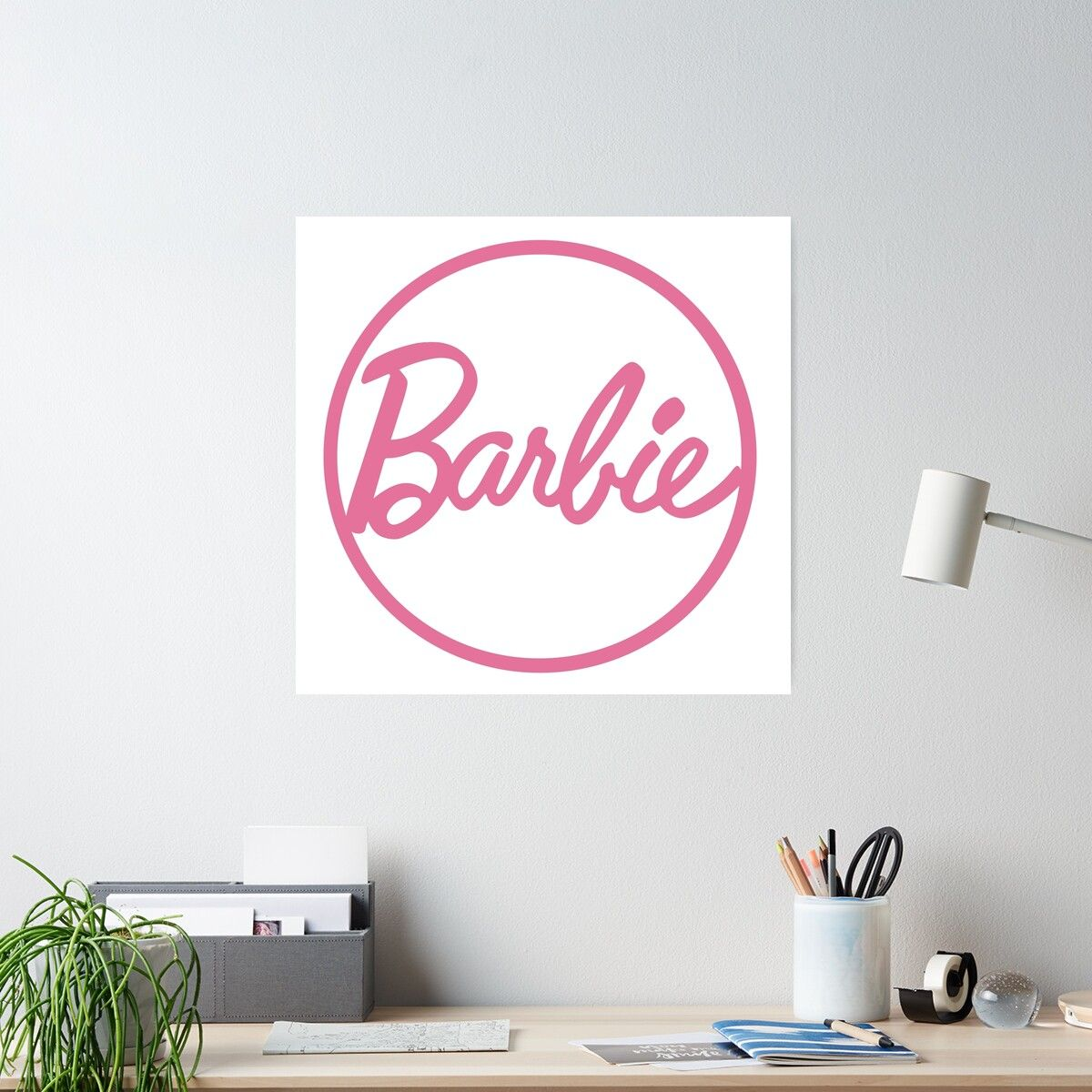 'Barbie Logo' Poster by supergaystore