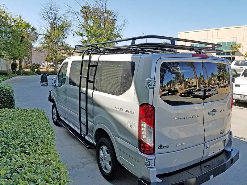 Ford Transit Standard Roof Racks Aluminess In 2020 Ford Transit Roof Racks Winch Bumpers