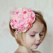 kojenecké dívka vlasové doplňky čelenky s květinami dětmi elastické čelenky  čelenky dívky Holčička příslušenství velký (Čína (pevninská část)) 3f8d4e3585