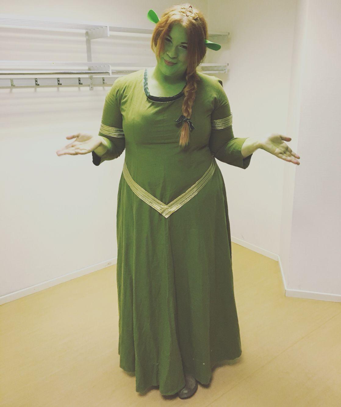 Princess Fiona from Shrek costume, Makeup, hair and dress, Cosplay ...