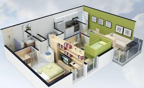 Planos 3d Planos De Casas Gratis Y Departamentos En