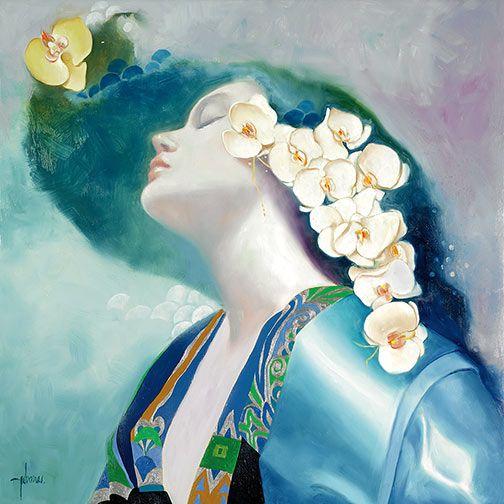 """Orquídeas II"" by Felix Mas  http://beautyloveandsoul.blogspot.com/2012/02/blog-post.html"