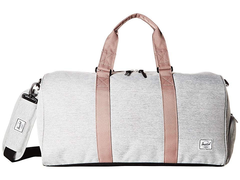 43d7342eabd Novel Mid-Volume (Light Grey Crosshatch Ash Rose Black) Duffel Bags.  Limited lifetime warranty. Tell your own style when you head out for the  weekend with ...