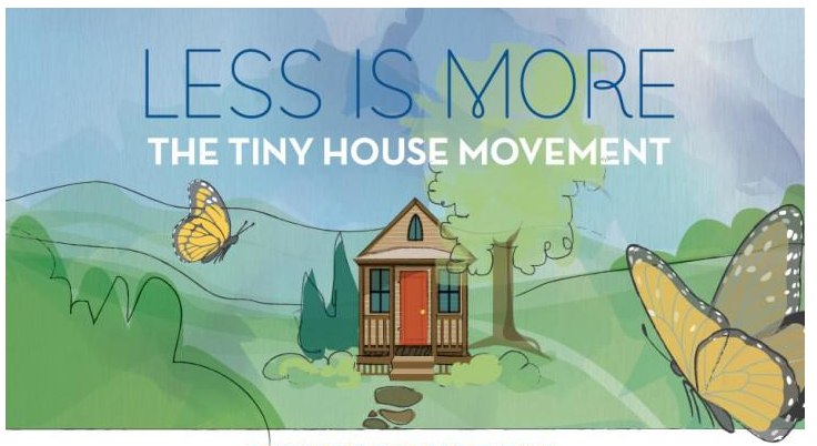 Less Is More, The Tiny House Movement _ Infographic