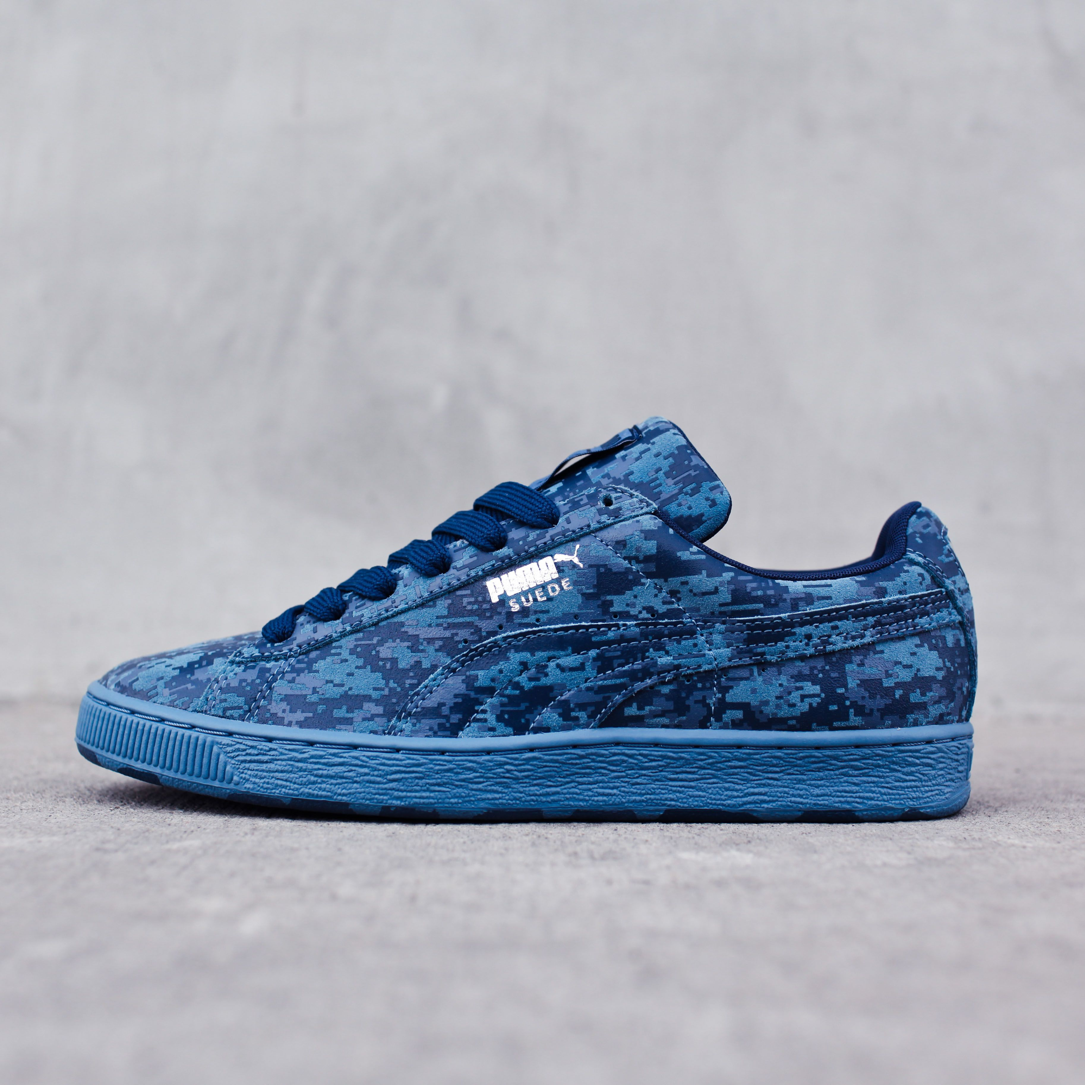 4edcb3e8209 The PUMA Suede Camo  Armed Forces  Low is available on CityGear.com