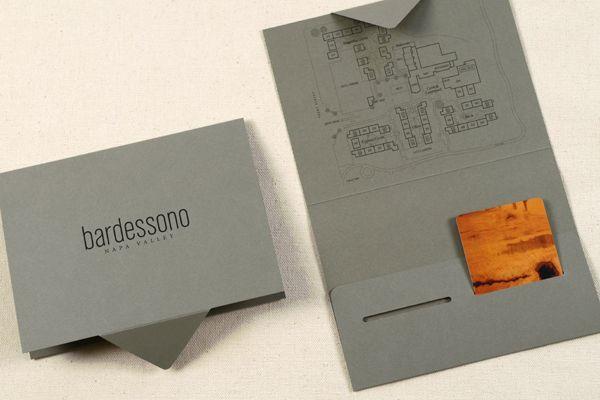 Bardessono By Joy Rubin Via Behance Hotel Key Cards Brochure Design Creative Hotel Card