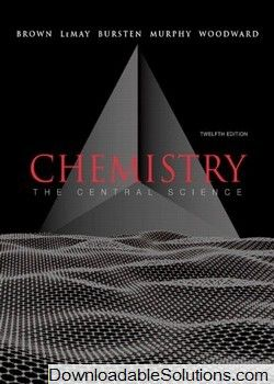Solutions manual for chemistry the central science 12th edition solutions manual for chemistry the central science 12th edition brown lemay bursten murphy fandeluxe Images