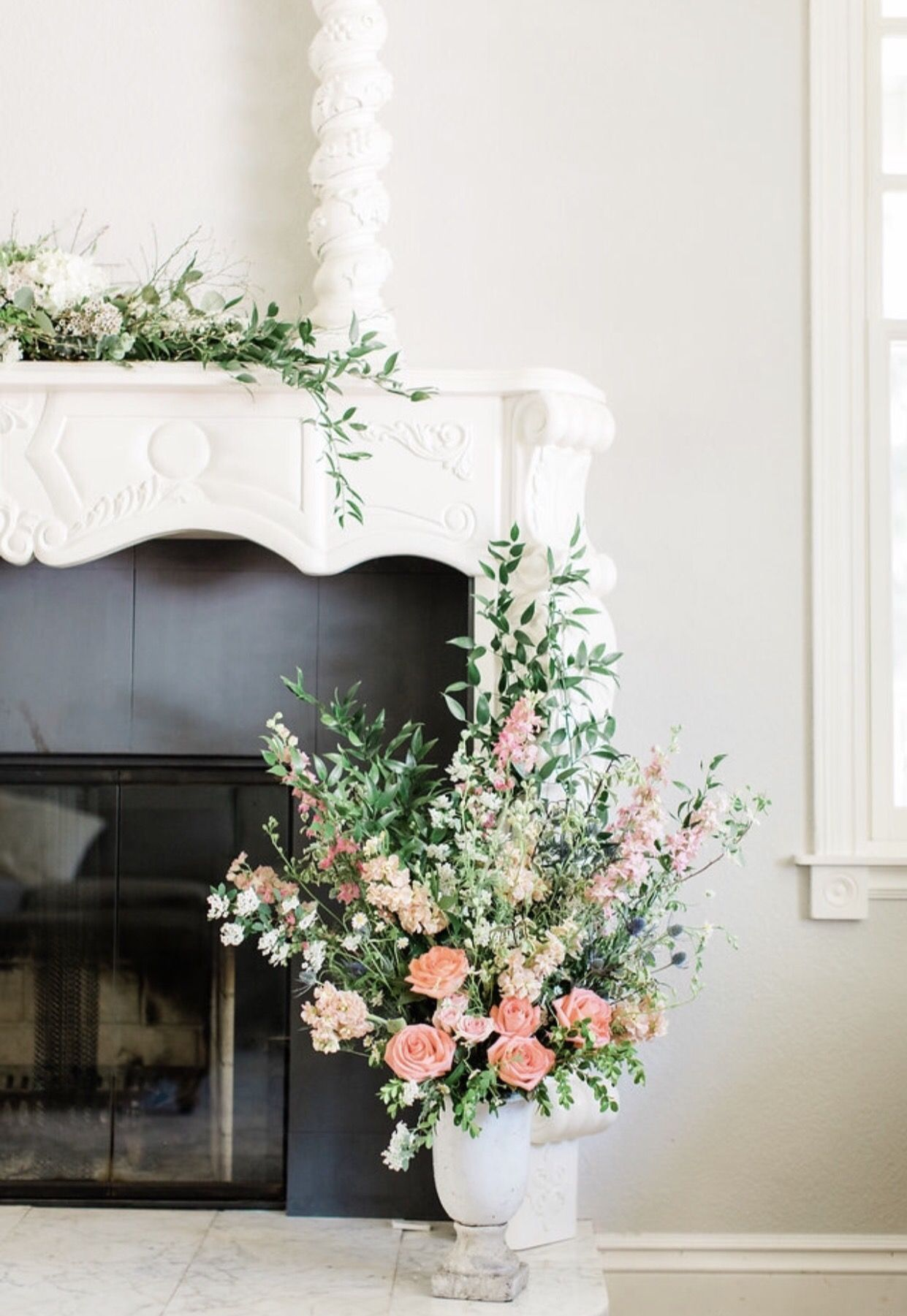 26++ Flowers for fireplace mantel ideas in 2021