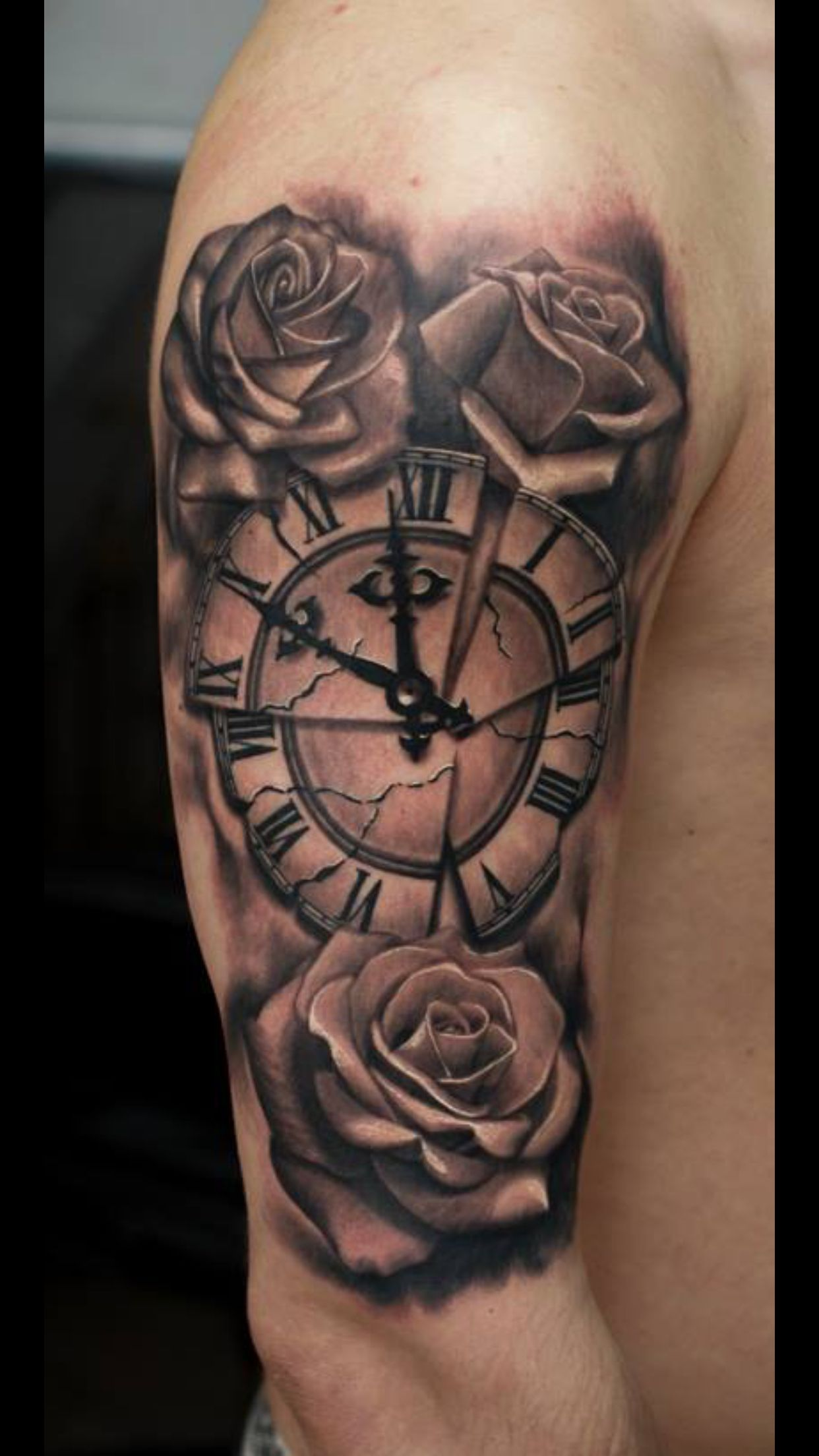 Rose Tattoofor Arm To Chest: Arm Tattoos For Guys, Sleeve Tattoos