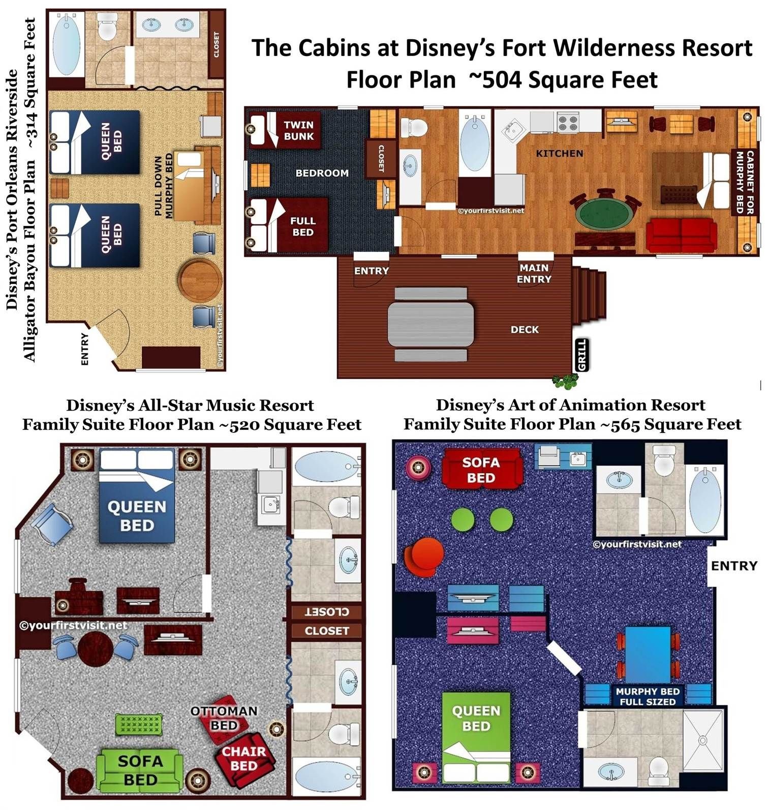 Review: The Family Suites at Disney\'s All-Star Music Resort | Disney ...