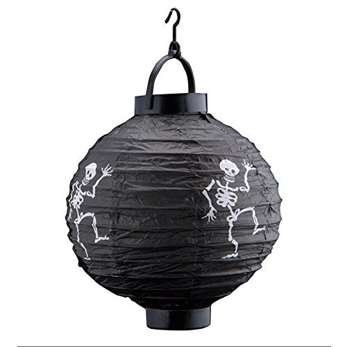 halloween decorations paper lanterns skeleton lamp with led light read more at the image link