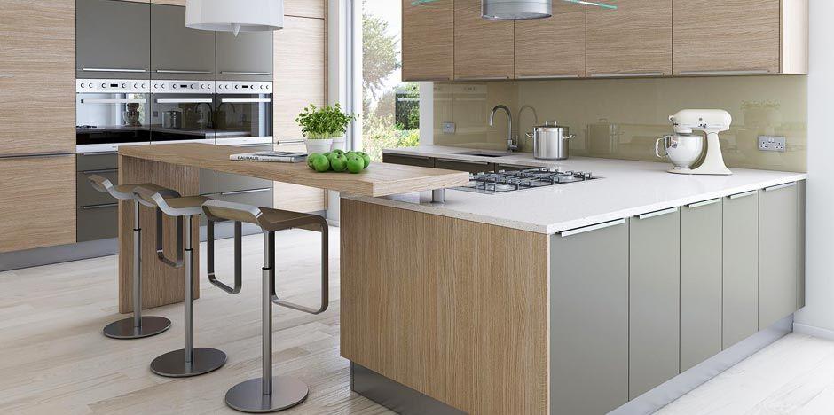 Resultado de imagen para cocinas estilo nordico dise o - Cocinas madera clara ...
