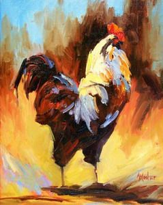 chicken oil painting,oil painting,decoration chicken,chicken paintings, decorate oil painting,animal oil painting,oil paintings http://www.china-art-discount.com/Oil_painting_chicken_6960.html