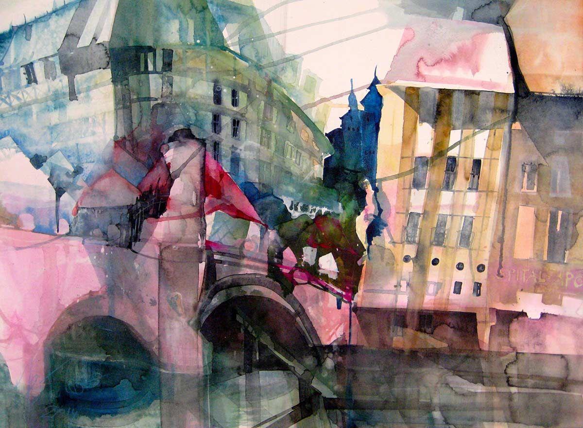 Galerie Elke Memmler Akvarelnye Hudozhniki Akvarel