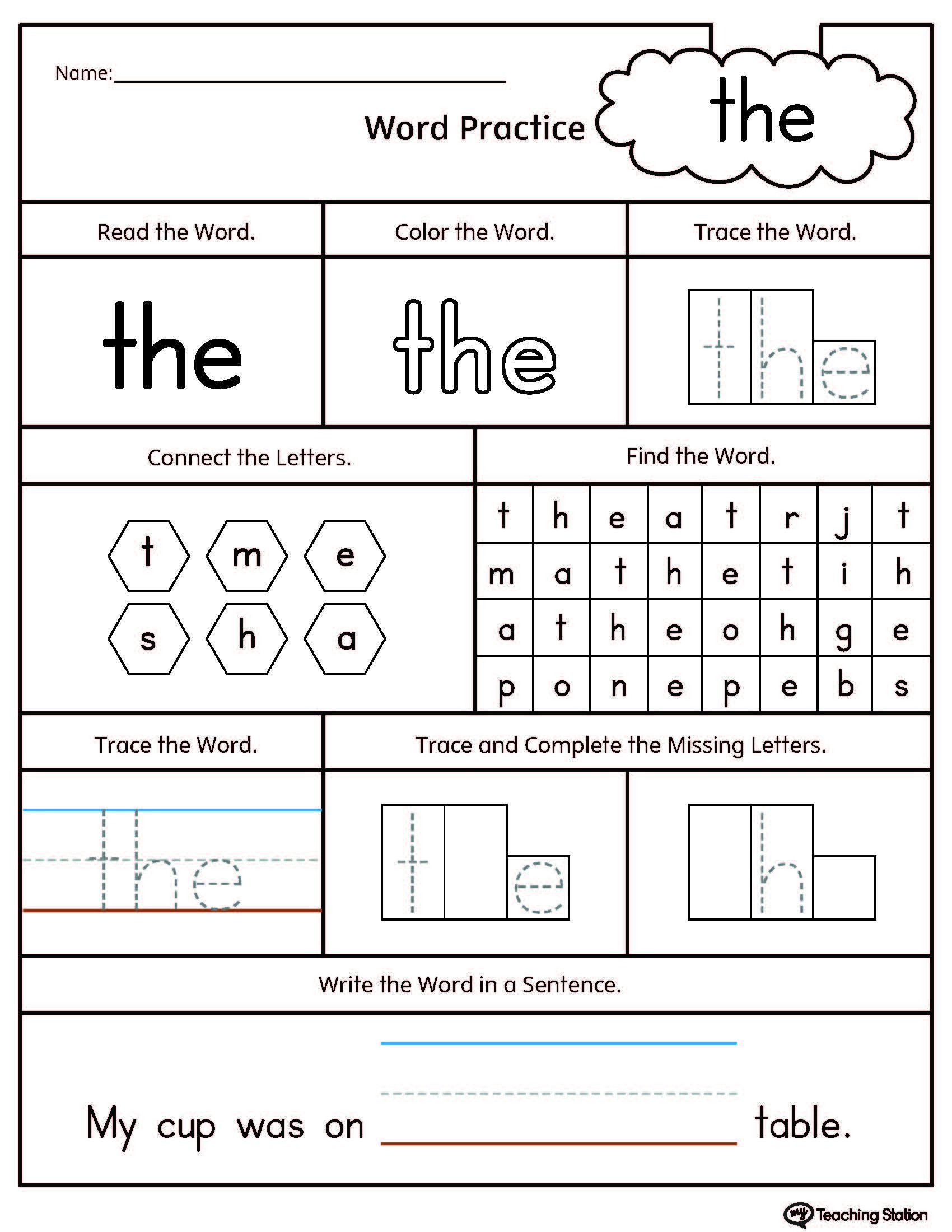Free Preschool Kindergarten Worksheets Consonants