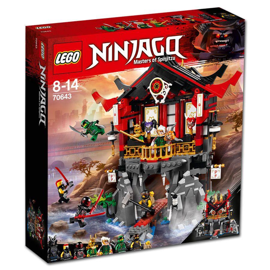 Lego Ninjago Temple Of Resurrection 70643 Lego Ninjago Ninjago Ninjago Dragon
