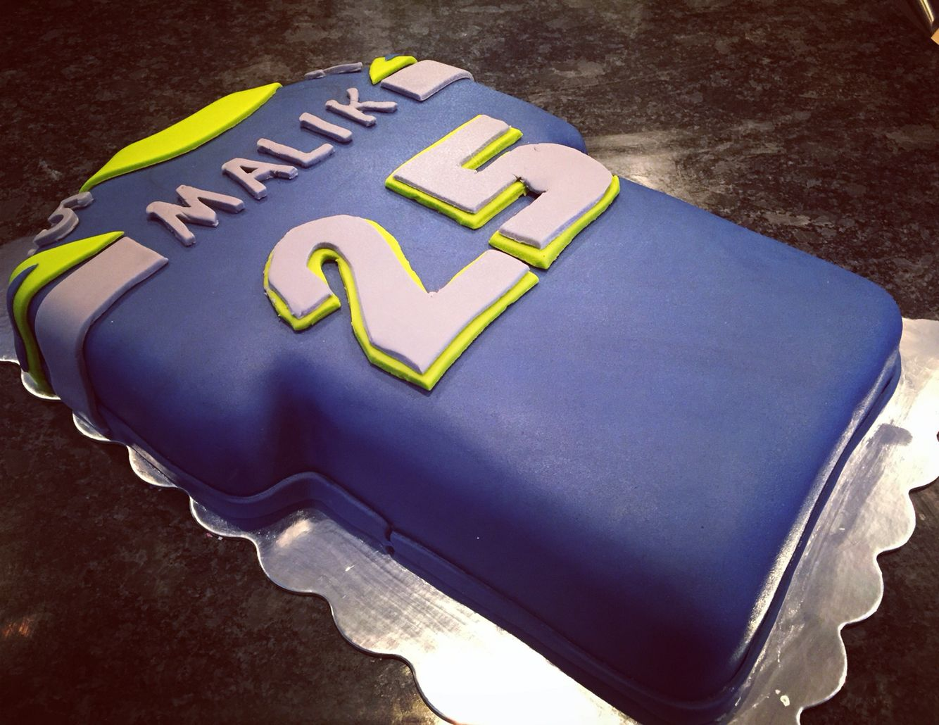Phenomenal Seattle Seahawks Jersey Cake Seattle Seahawks Cake Seahawks Birthday Cards Printable Opercafe Filternl