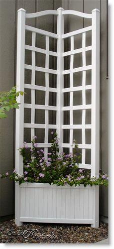 Fence Panel Planter