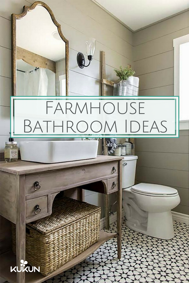 Farmhouse Bathroom Ideas For Your Next Remodel Kukun