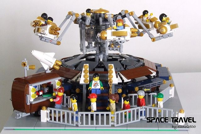LEGO custom Fairground Ride, by nuno2500, via Flickr   Lego Art ...