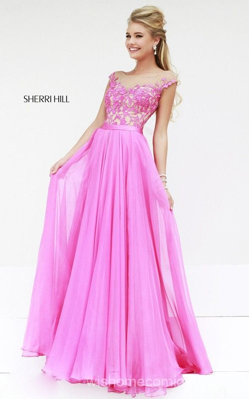 Unique Sherri Hill 11151 Homecoming Dress Pink 2014 | Gowns ...
