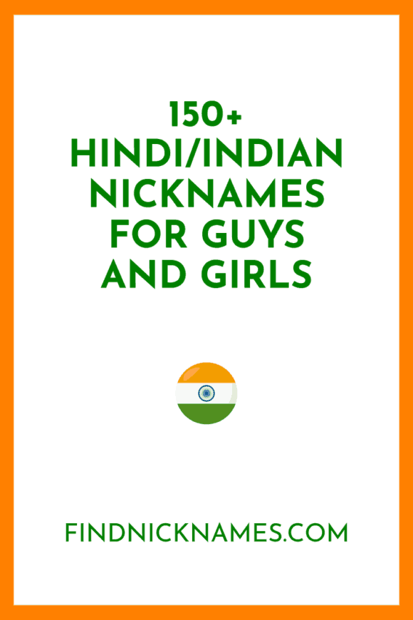154 Hindi Indian Nicknames For Guys And Girls Find Nicknames