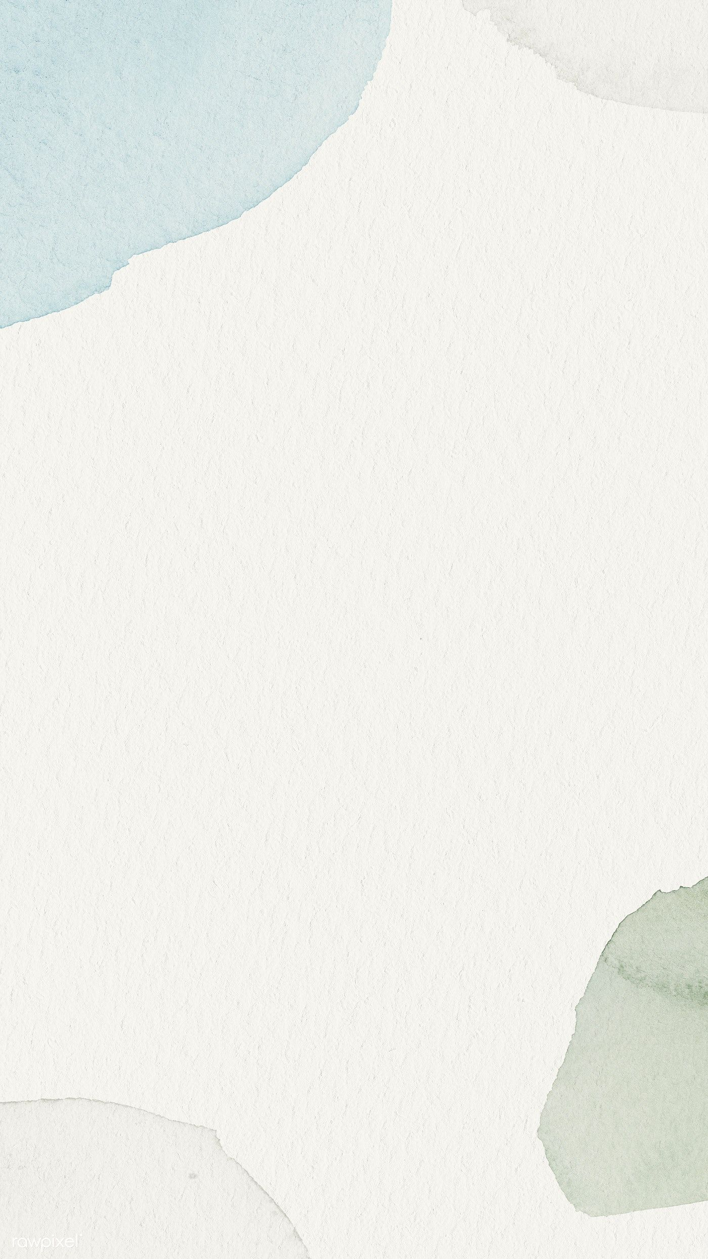 Download premium illustration of Blue and green watercolor patterned