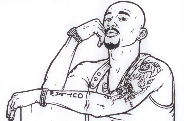 gangsta rap coloring book pages - gangster rap coloring book 878 pics to color ideas