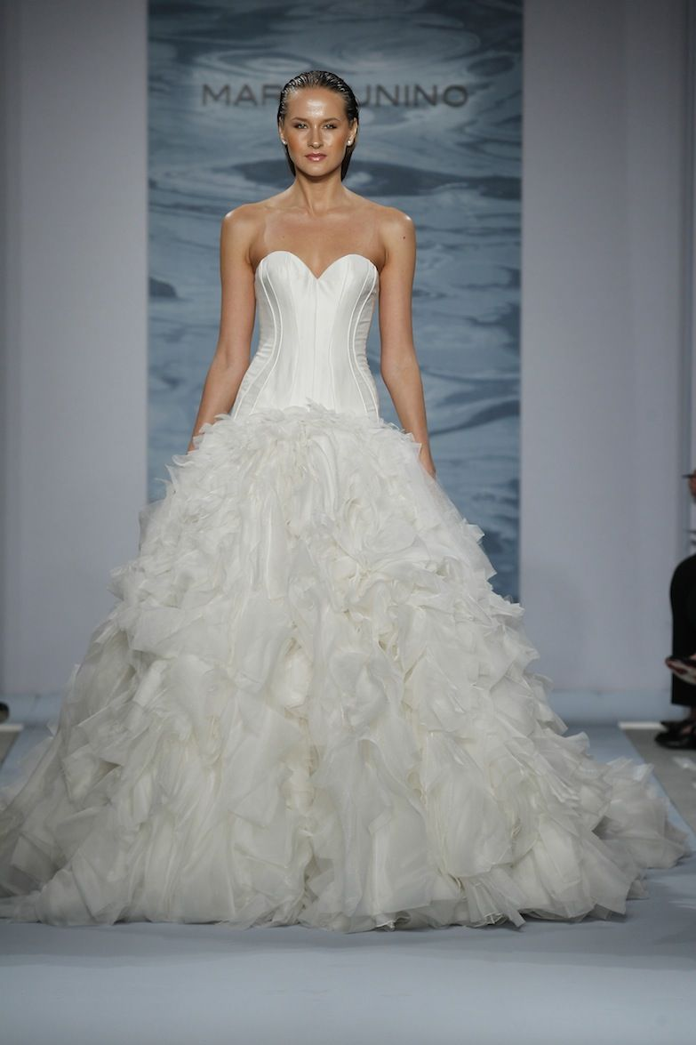 Wedding dresses kleinfeld  BRIDAL SPRING   Dresses  Pinterest  Mark zunino Bridal