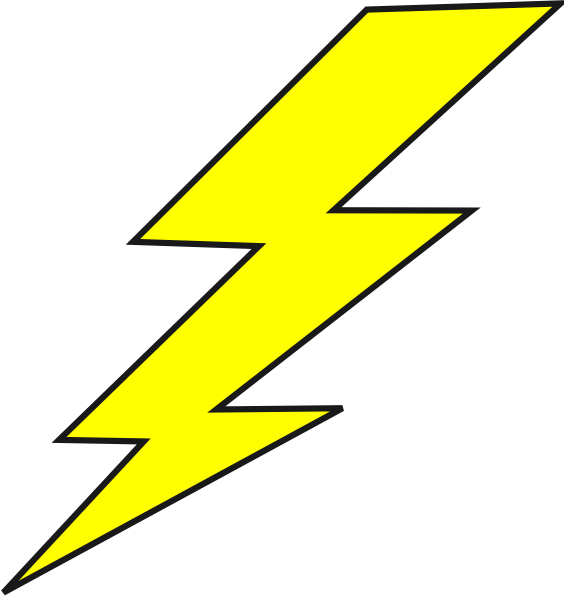 pin by annie b stinger on clipart pinterest lightning bolt and rh pinterest com clipart lightning mcqueen clip art lightning bolt symbol
