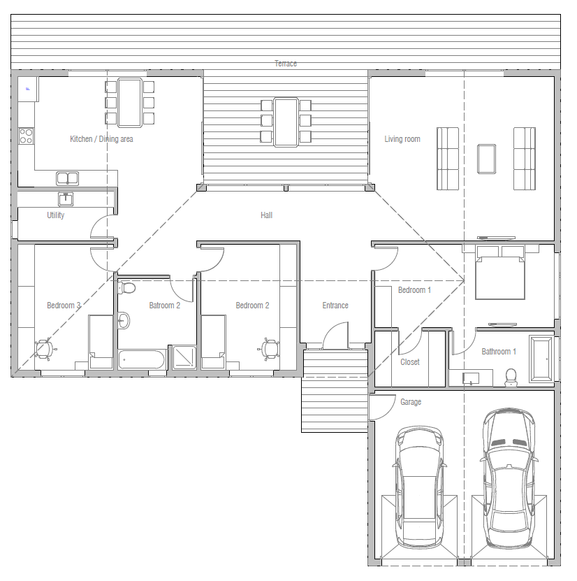 Haus design haus plan ch388 10 grundrisse pinterest for Design haus grundriss