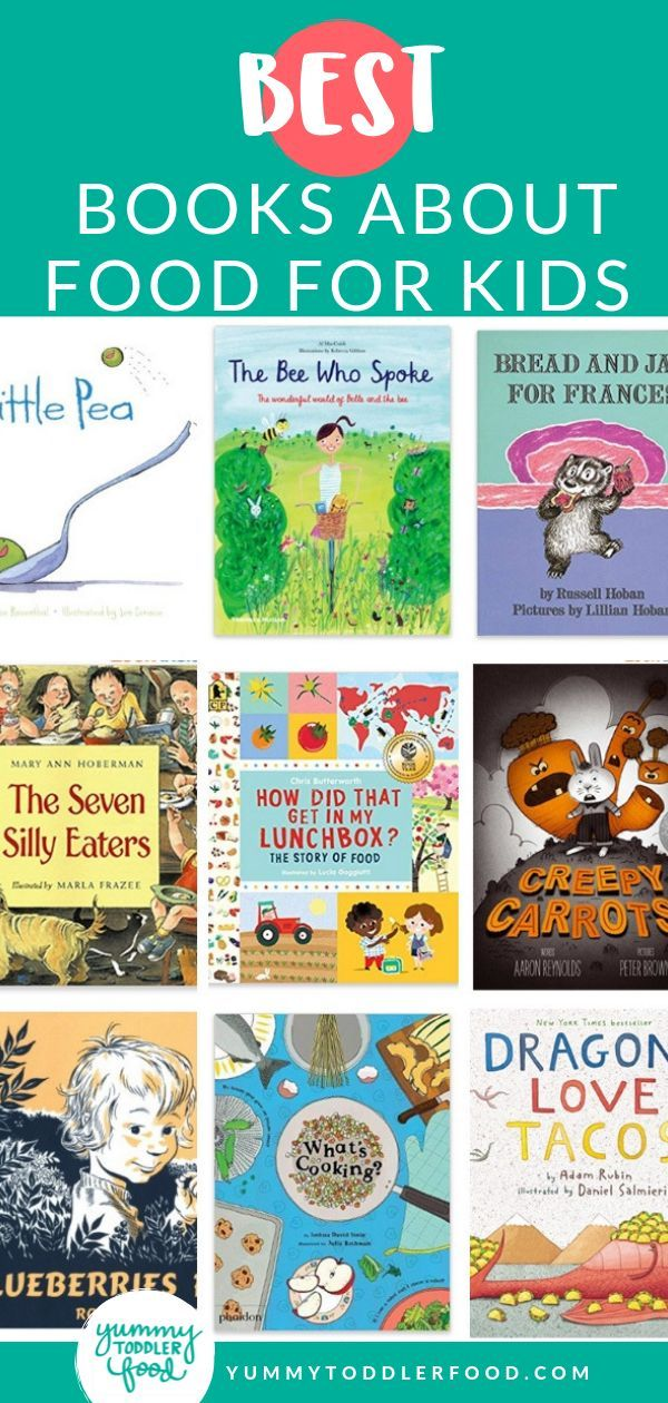 Best Children's Books About Food (Board Books and Longer Ones!) #kidsnutrition