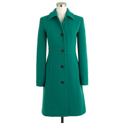 14bd225b9b65 Completely in love with this coat... If I lived in a state that had a legit  winter, I would have to have this!!!! Petite double-cloth lady day coat  with ...