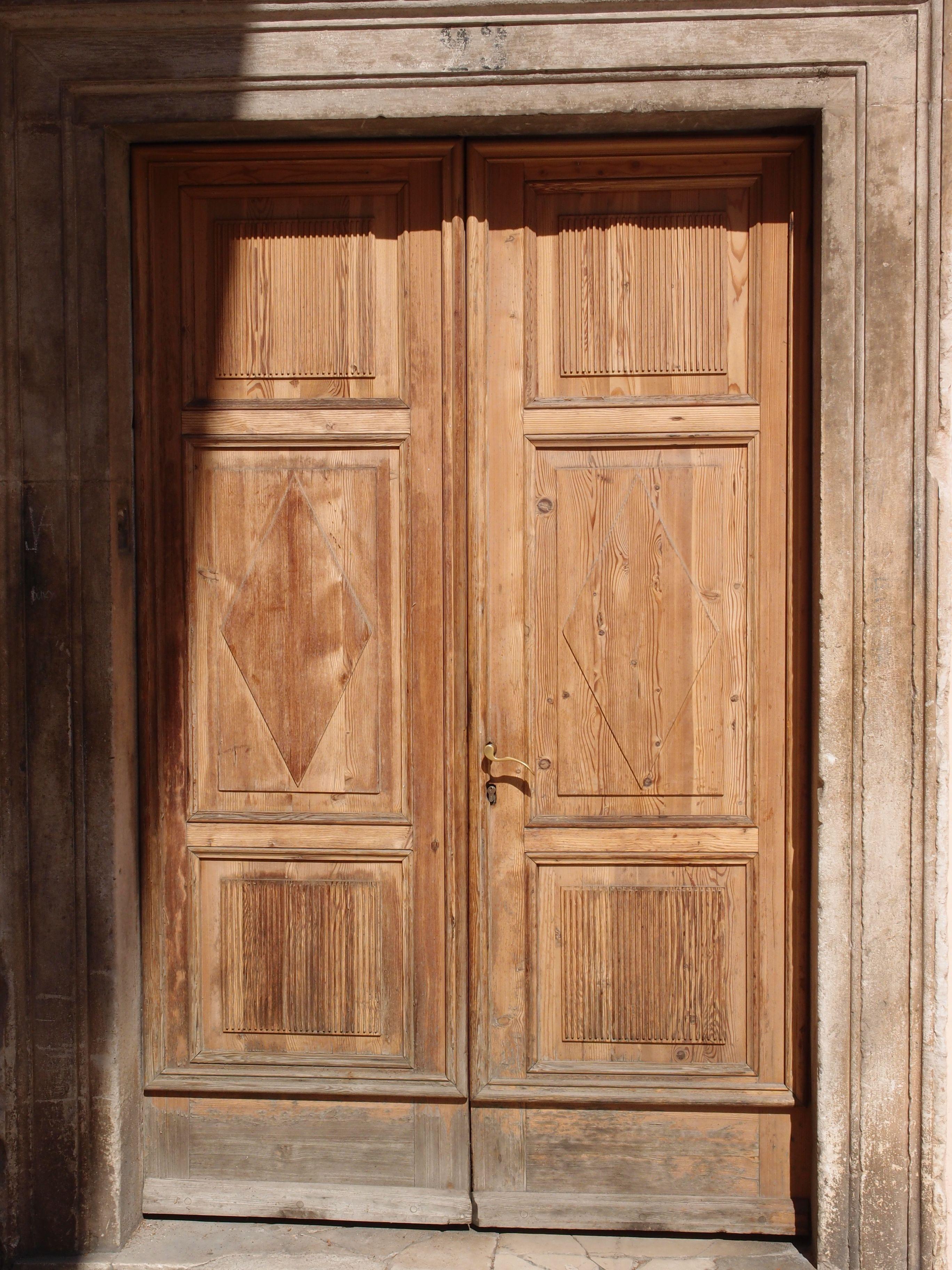 Wooden doors Zadar Croatia. Photographed by Marleen van de Kraats no photoshop or & Wooden doors Zadar Croatia. Photographed by Marleen van de Kraats ...