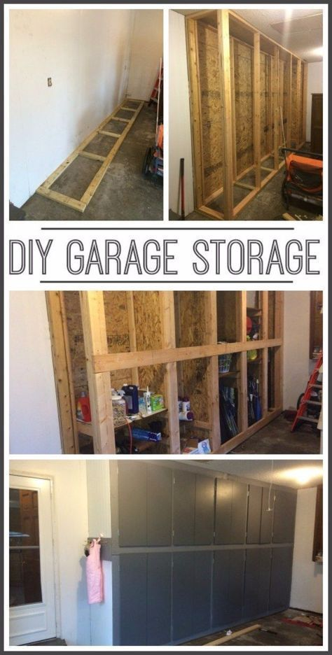 Diy projects your garage needs diy garage storage cabinets do it diy projects your garage needs diy garage storage cabinets do it yourself garage makeover solutioingenieria Image collections